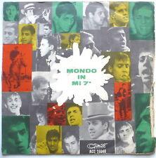"""ADRIANO CELENTANO - Mondo in mi 7a - ital. 7""""-Single"""