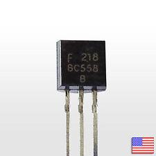 10x (10pcs) BC558B PNP Bipolar Amplifier Transistor BJT BC558 - Free Shipping