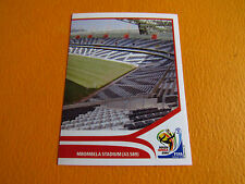 19 STADE NELSPRUIT MBOMBELA PANINI FOOTBALL FIFA WORLD CUP 2010 COUPE MONDE