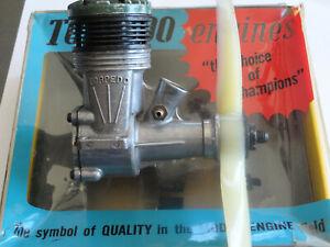 Vintage K&B .35 Torpedo Greenhead Control Line Model Plane Engine w/Box