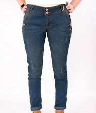 LADIES JANINA JEANS DENIM SIZES 12 - 26 WOMENS PLUS SIZE NEW SKINNY LOOSE
