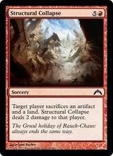 MTG Magic GTC - (4x) Structural Collapse/Effondrement structurel, English/VO