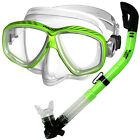Promate Scuba Dive Snorkeling Purge Silicone Mask Dry Snorkel Gear Set