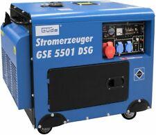 Güde GSE 5501 DSG Stromerzeuger Stromaggregat Aggregat Generator Diesel