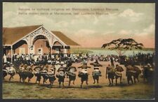 Lourenco Marques vintage colour postcard Native Women Dance at Marracuene
