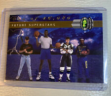 1992 CLASSIC 4 FOUR-SPORT LPS INSERT FUTURE SUPERSTARS SHAQUILLE O'NEAL #LP15