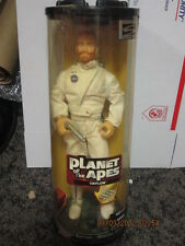 """Charles Heston MIB """"PLANET of the APES"""" Taylor (includes rotating display stand)"""