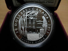 2013 Canadian $20 Silver Coin Toronto Street, Winter Morning  Lawren S. Harris