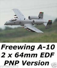 Freewing 1100mm  A-10 4S 2 x 64mm EDF Upgrade PNP Version With Flap NEW IN BOX