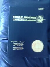 Natural Medicines: Comprehensive Database 2003 (5th Ed) Therapeutic REFERENCE PB