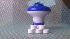 Petit distributeur avec 30 tablettes de chlore 20g pour piscines et spas, piscines intex