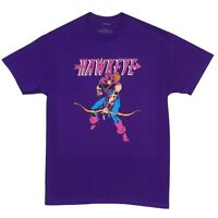Avengers Hawkeye Classic Stance Marvel Comics Licensed Adult T-Shirt