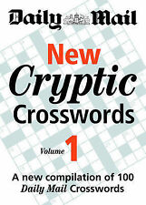 Daily Mail New Cryptic Crosswords vol 1 BRAND NEW BOOK (Paperback)
