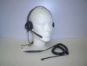 HW361N Binaural HEADSET for Avaya 2410 2420 4610 5410 5610 5620 Nortel & Toshiba