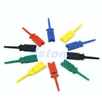 Useful 5 Colors Test Clip Mini Grabber SMD IC Hook Probe Jumper 5 Pcs