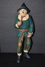 "1995 Wizard Of Oz Scarecrow Turner Plastic Figure 9 3/4"""