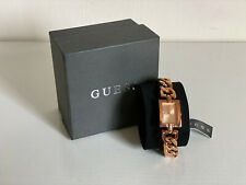NEW! GUESS MINI MOD SWAROVSKI CRYSTALS ACCENT ROSE GOLD BRACELET WATCH $110 SALE