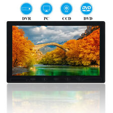 "10"" TFT LCD Screen Touch Buttons Monitor AV/RCA/VGA/HDMI for  CCTV PC Display"
