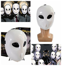 Batman Court of Owls Mask Cosplay Mask Costume Prop White Resin Replica Unisex