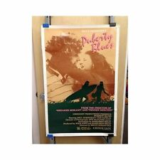 PUBERTY BLUES Original Home Video Poster