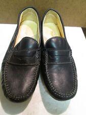 Primigi Kids Boy Navy Blue Leather Slip-on Shoe Size 36 Youth