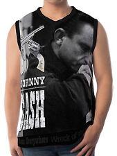 Johnny Cash Herren Tank Top Trägertops wa16 aao20019