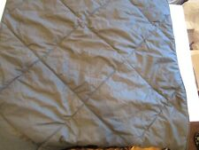 Pottery Barn Teen Solid comforter Euro sham quilted charcoal New wo tag