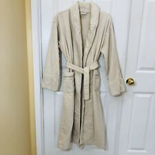 Pottery Barn Beige Women's Cotton Robe XS/S