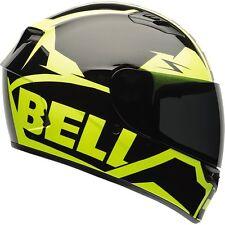 Bell Qualifier Full Face Street Bike Motorcycle Helmet S Hi Viz