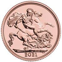 2021 Gold Half Sovereign
