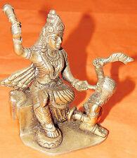 Mahavidya Baglamukhi idol in Panchdhatu