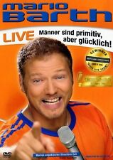 "MARIO BARTH ""MÄNNER SIND PRIMITIV ABER...LIVE"" DVD NEU"