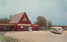 JOPLIN KOA KAMPGROUND Route 5 Roadside Missouri Camping Trailer c1960s Postcard