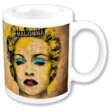 Madonna Celebrate Yellow Ceramic Coffee White Mug Gift Fan Official