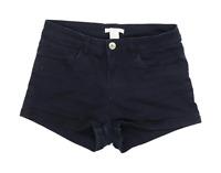 Womens H&M Black Denim Shorts Size 4/L2