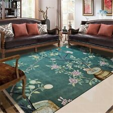 Chinese Style Carpet Room Flower Birds Pattern Entrance Carpet Rug Mat Hallway