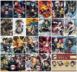 Demon Slayer Poster Anime Manga Art Print Wall Home Room Decor Kimetsu no Yaiba