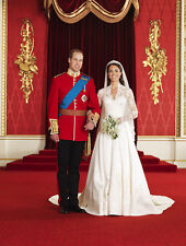 Catherine, Duchess of Cambridge & Prince William UNSIGNED photo - H5981