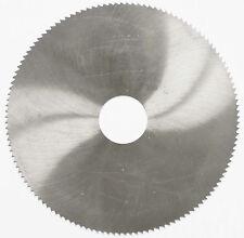 Lama sega circolari taglio dei metalli HSS 156 x 1 32 128 DENTI DADO Alesatore