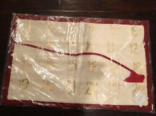 NEW POTTERY BARN CHRISTMAS ADVENT PILLOW COVER HOLIDAY