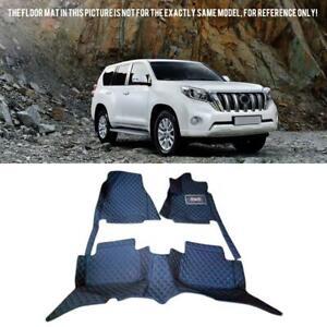 For Toyota Prado J150 2010-2021 Leather Car floor mat carpets Right hand drive