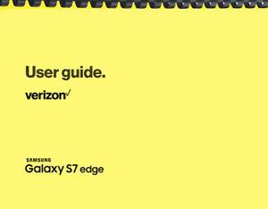 Samsung Galaxy S7 Edge Verizon OWNER'S USER MANUAL