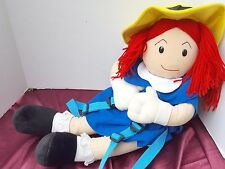 Madeline Plush Soft Doll Girl Backpack Friend Party Pj'S Storage Travel Pillow