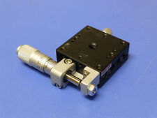 OptoSigma / Sigma Koki TSD-401SR Linear Translation Stage with Micrometer, 13mm