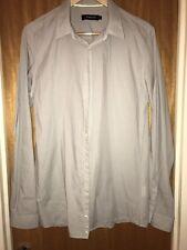 Genuine Junk de Luxe Designer Men's Slim Fit Grey Shirt Large