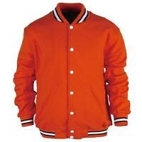 New Varsity College Letterman Jacket School Uniform Jersey Baseball Jumper Mens