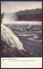 "USA. New York. ""The Falls of Niagara"" Unused Raphael Tuck Oilette Postcard #6438"