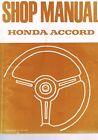 Shop Manual Honda Accord