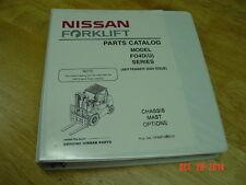 NISSAN Model F04D(U) Series  OEM Forklift Parts Catalog 2004 version, S6S Engine