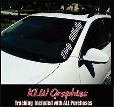 Dirty Hillbilly * Vinyl DECAL Sticker Redneck Diesel Truck Car 1500 Crew Cab